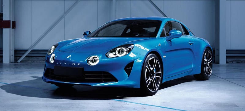 The Reborn Alpine A110 Looks Incredibly Sharp