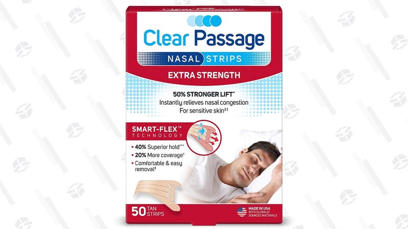 Clear Passage Nasal Strips