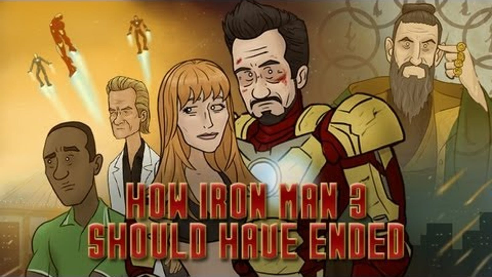 This Is How Iron Man 3 Should Have Ended
