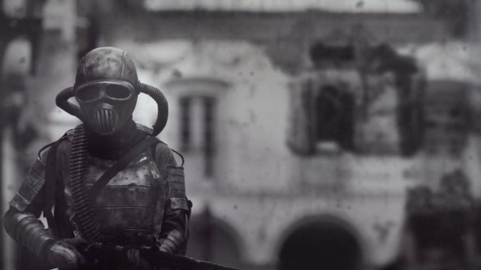In This Stunningly Bleak Scifi Short, a Survivor Struggles in a Post-Apocalyptic Cityscape