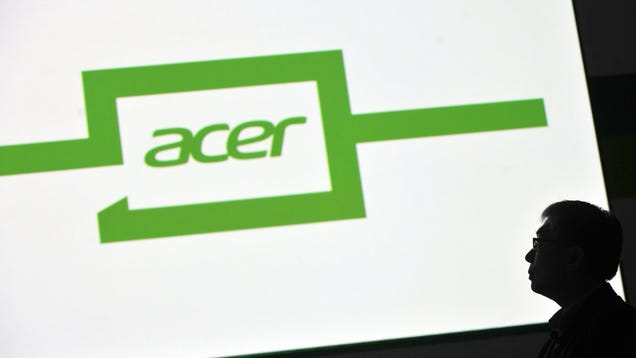 Acer Says Global Chip Shortage Will Bottleneck Laptop Production Until at Least 2022