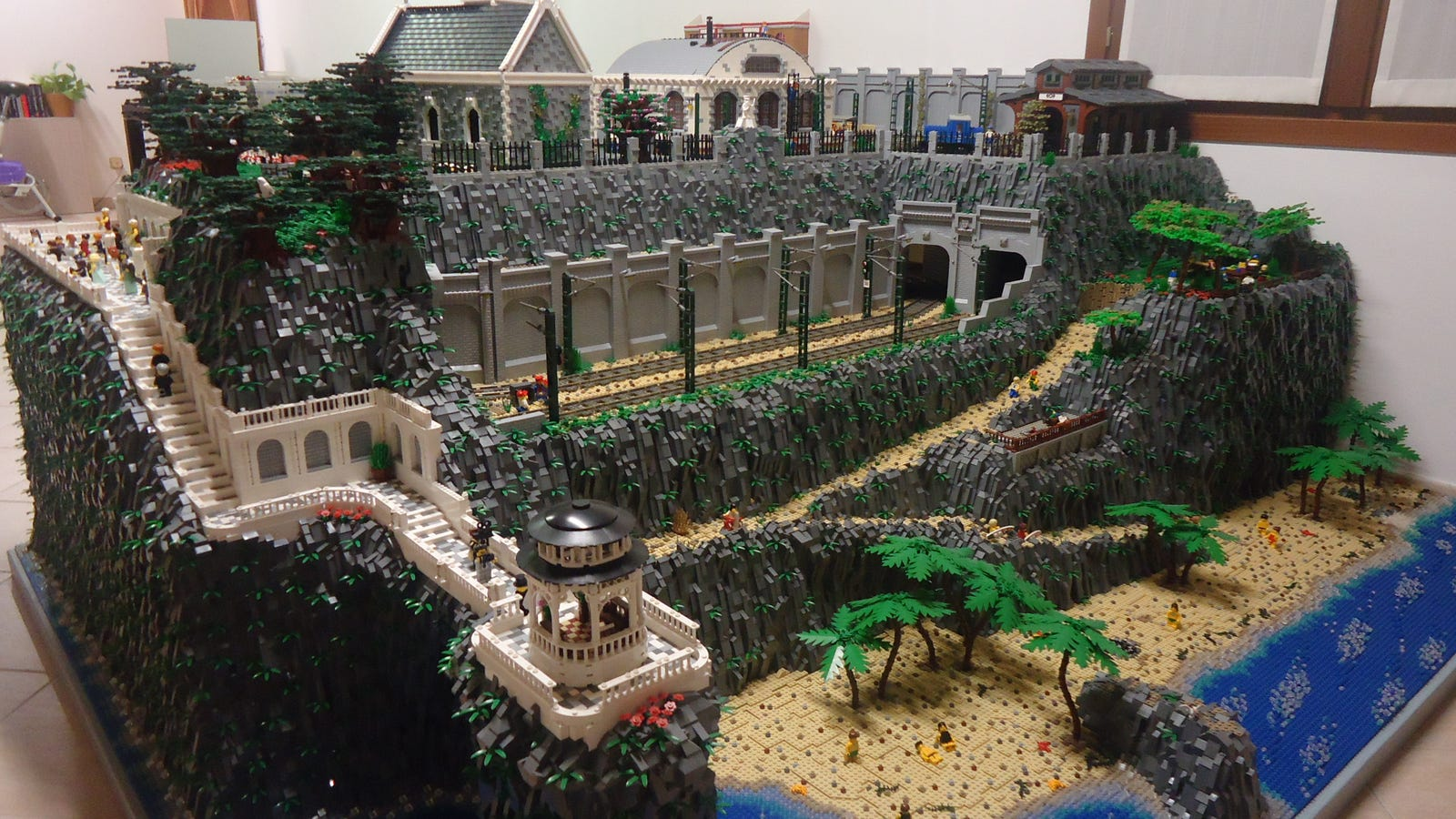 This Lego Diorama Is Bigger Than My Bedroom