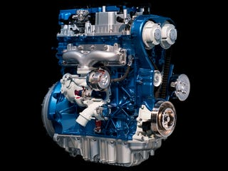 Illustration for article titled 180 HP 1.6-Liter Ecoboost Inline Four Announced, Officially