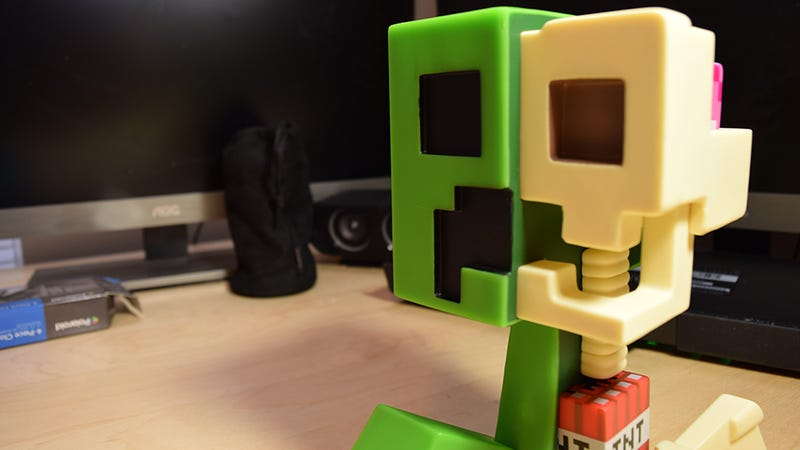 Illustration for article titled The Minecraft Creeper Anatomy Doll Answers So Many Questions