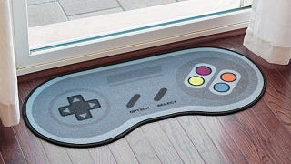 Illustration for article titled Wipe Your Feet On This SNES Controller Doormat
