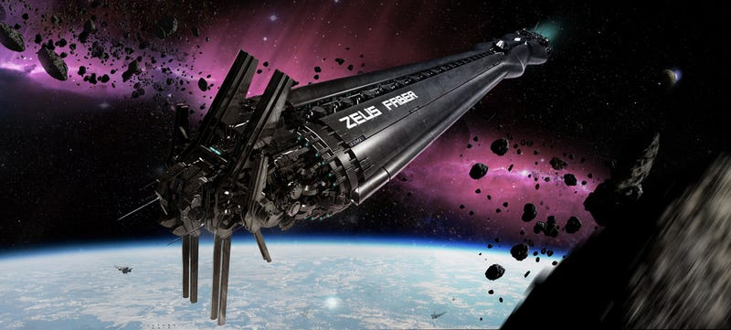 Illustration for article titled Here are some fantastic starships to make you dream about the future