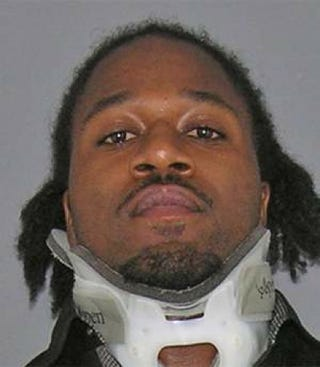 Illustration for article titled Pacman Jones Is Wearing A Neck Brace In His Latest Mug Shot