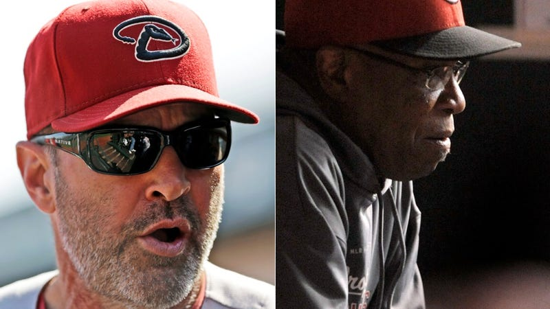 Illustration for article titled Kirk Gibson And Dusty Baker Are Already Feuding Like Schoolgirls