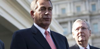 Rep. John Boehner and Sen. Mitch McConnell (Getty Images)