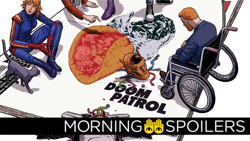 Image: DC Comics. Doom Patrol #1 Cover Art by Nick Derington