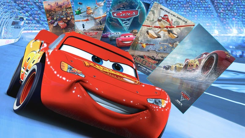 Cars (Image: Disney. Graphic: Jimmy Hasse)