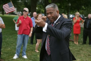 Illustration for article titled Bad News:  Allen West Still Has Political Aspirations