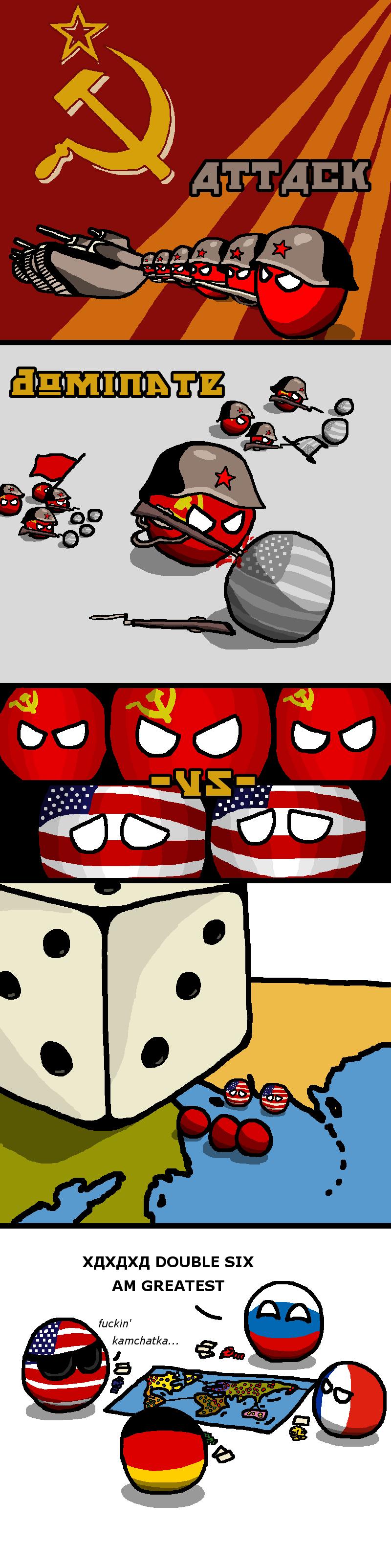 Illustration for article titled Daily Polandball: Soviet Domination