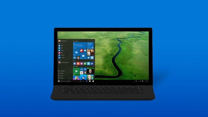 Illustration for article titled La próxima gran actualización de Windows 10 llegará gratis en verano