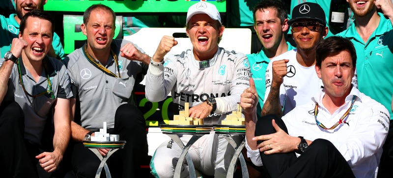 Illustration for article titled Toto Wolff Is Going To Count To Three