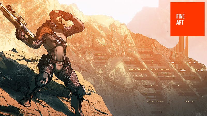 Illustration for article titled This Wonderful Mass Effect 3 Art is Full of GIANT SPOILERS