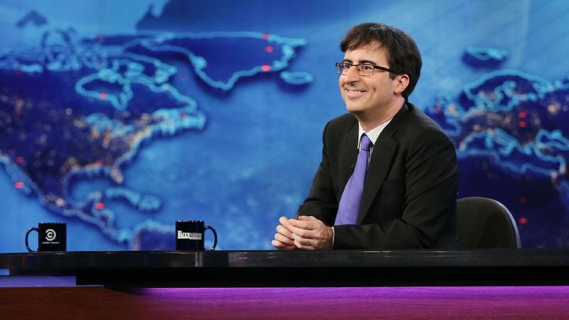Illustration for article titled John Oliver's new HBO show has a name and a premiere date