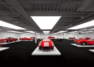 Illustration for article titled Ralph Lauren's Private Garage Is Like Classic Car Heaven