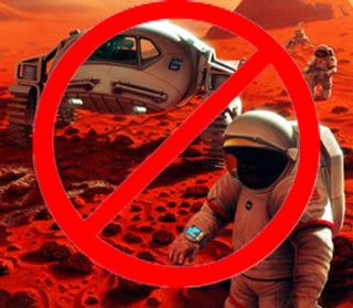 Illustration for article titled Manned mission to Mars takes another hit: Game over, man.........