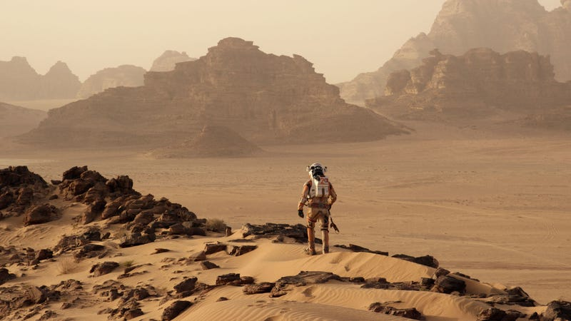 Illustration for article titled Liquid Water Has Been Found On Mars, so Let's Move
