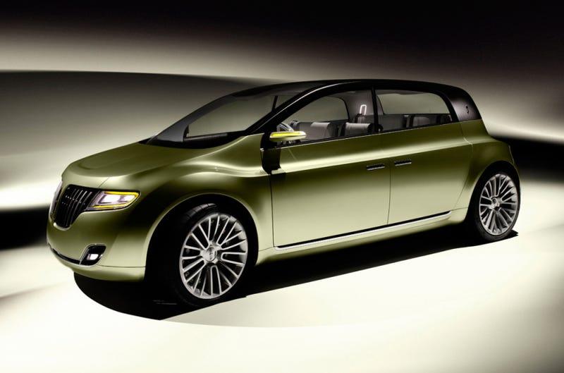 Lincoln C Concept A Smaller Car For A Compact Future