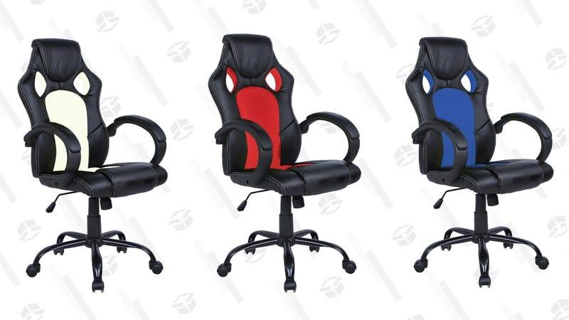 High Back Racing Style Gaming Chair | $52 | Rakuten | Promo code FDW13