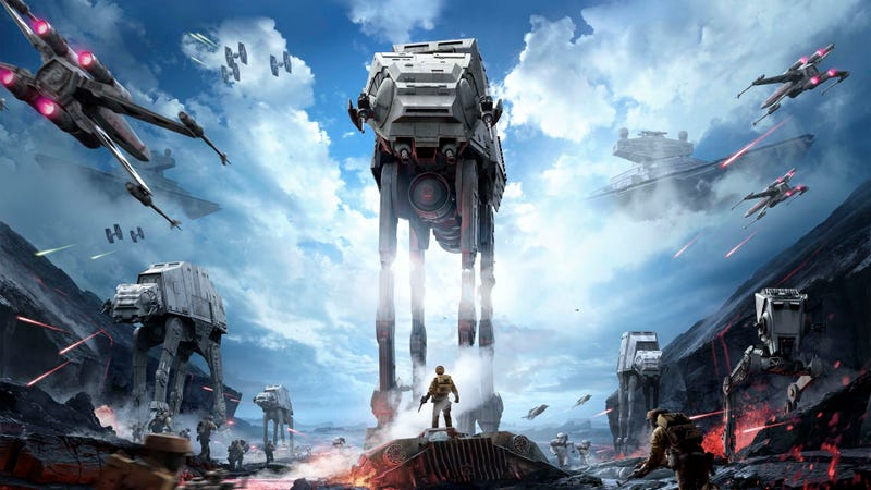 Illustration for article titled Star Wars Battlefront Beta Coming in October