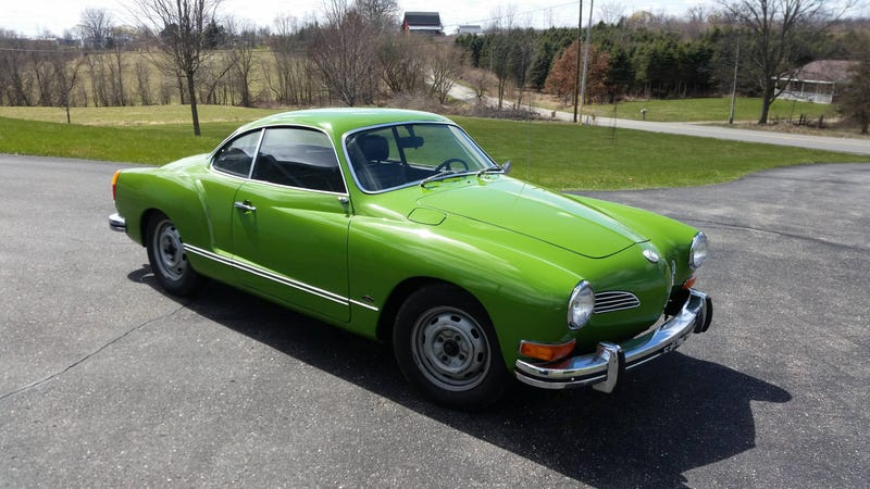 Illustration for article titled Got the Karmann Ghia out today