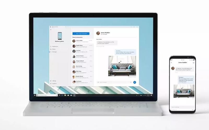 Illustration for article titled La nueva actualización de Windows 10 ya está aquí, y permite controlar tu móvil desde el PC