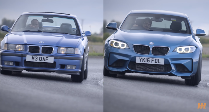 Illustration for article titled Six Ways The New BMW M2 Is Just Like A 20 Year-Old M3