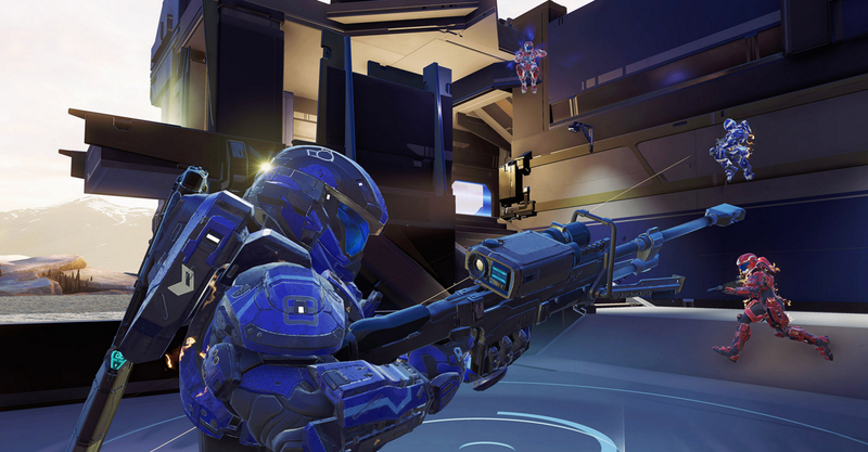 Illustration for article titled Damn, This Halo 5 Snipe Is Dirty