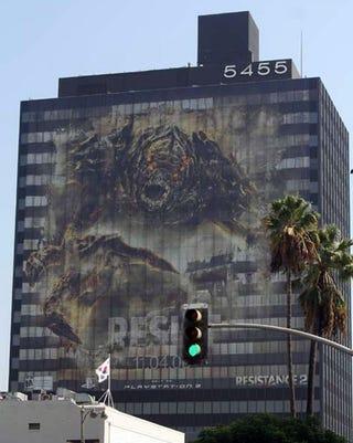 Illustration for article titled Resistance 2 Ads Are HUGE In LA