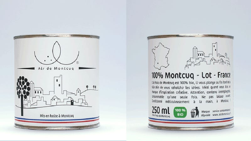Illustration for article titled Apparently People Will Buy Cans of French Air for $7.50
