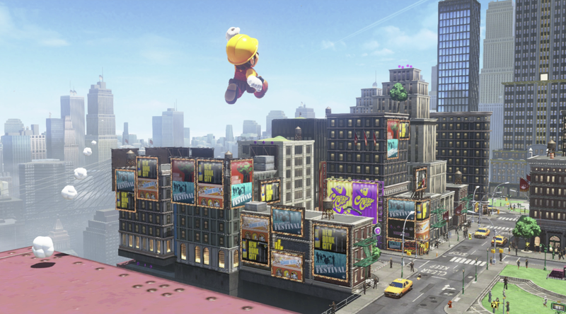 I might never leave New Donk City.