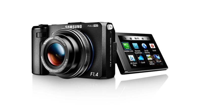 Illustration for article titled Samsung's EX2F Compact Camera Has a Wonderfully Wide Aperture