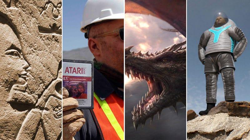 Illustration for article titled Egipcios, dragones, trajes espaciales, y E.T, lo mejor de la semana