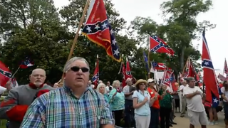 Racist Idiots Hold Pro-Confederate Flag Rallies Across the South
