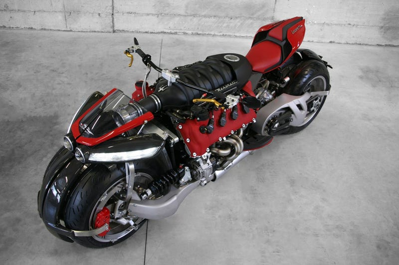 Should All Motorcycles Have Maserati V8 Engines? Yes