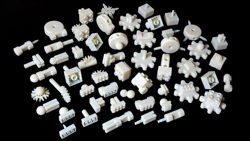 Adapter Kit Lets Your Lego Bricks And Lincoln Logs Play Together