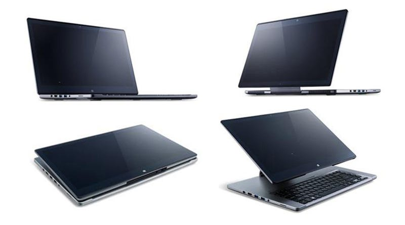 Illustration for article titled Acer Aspire R7: The Craziest Thing to Happen to Laptops in Years