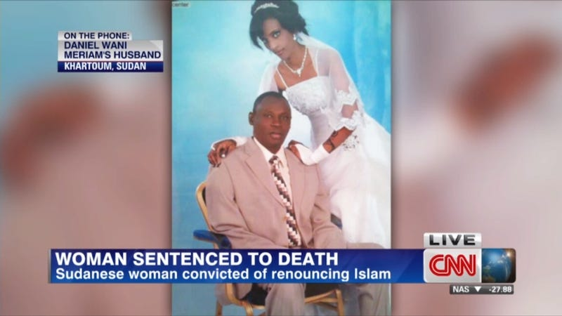 Illustration for article titled Sudanese Woman Facing Death Penalty for Apostasy To Be Freed
