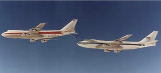 Illustration for article titled The World's Only KC-747 Tanker Is Flown By The Iranian Air Force