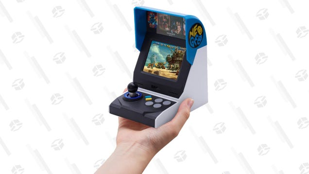 The Neo Geo Mini International Edition Is Down to $50