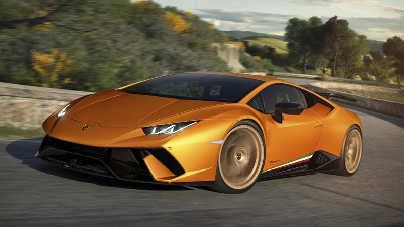 The Lamborghini Huracan Performante Has 631 HP And Crazy Forged ...