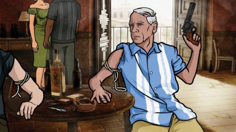 """Illustration for article titled Archer: """"Blood Test"""""""