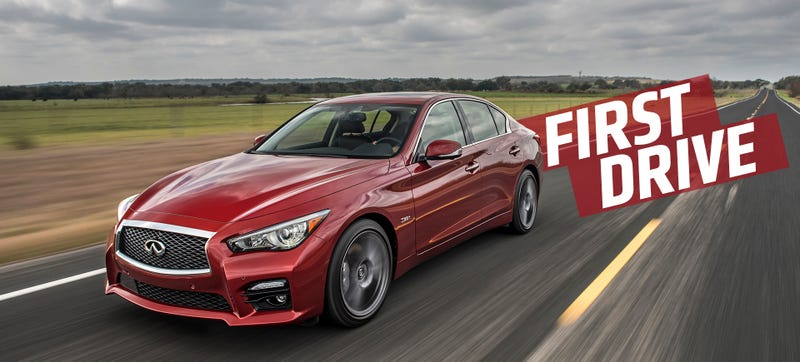 Usually When A Car Gets As Many Mid Life Updates As The Infiniti Q50 Is  Getting For 2016, It Happens When Said Car Is A Complete And Total Failure,  ...