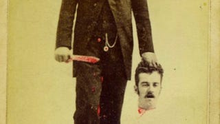 Illustration for article titled This creepy trick photo from 1875 proves our great-great-great-grandparents had a twisted sense of humor