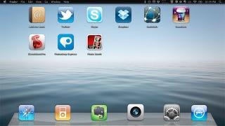 Illustration for article titled iPad Mac Desktop