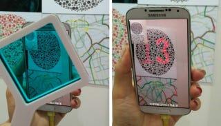 Samsung diseña una app para daltónicos basada en pantallas OLED