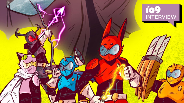 The Indie Team Behind Beast Heart! Strikers Tells Us About Bringing the Tokusatsu Spirit to Comics